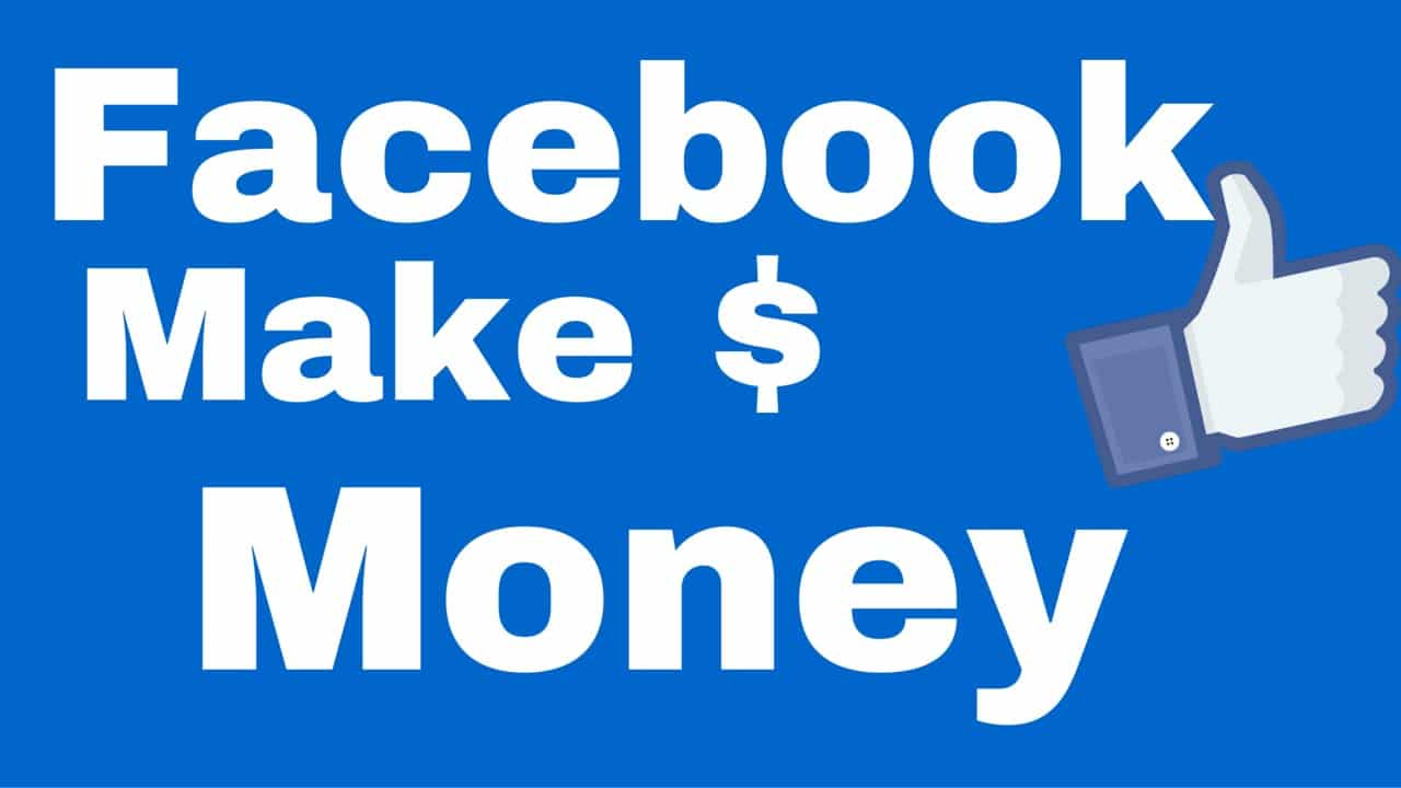 Make Money With Your Facebook Page Cover