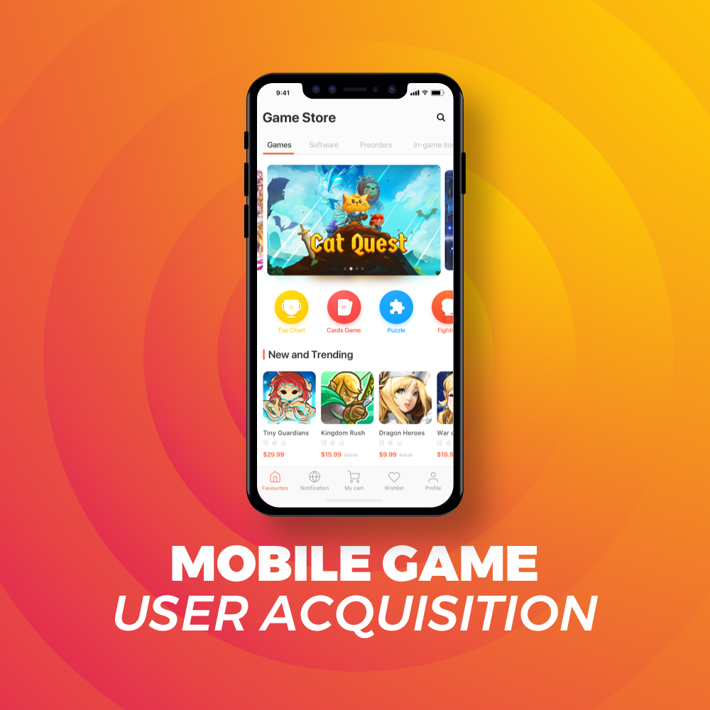 Mobile Game App